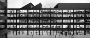 Fassade des Neubaus Switzerland Innovation Park Biel Bienne