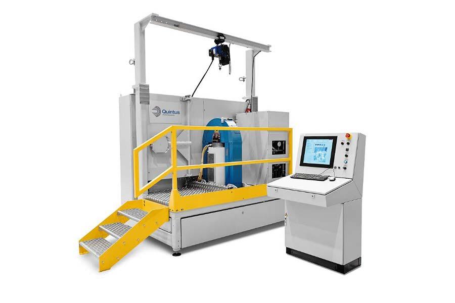 Technologie-Transfer-Center HIP-Maschine mit Rapid Cooling zum Testen der optimalen Zyklen