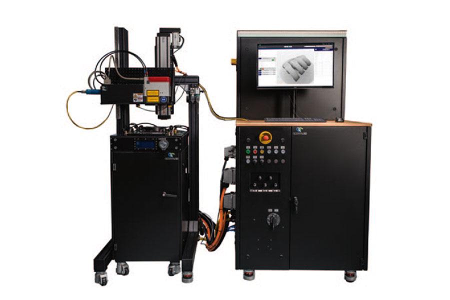 AM-Forschungsmaschinen im Laser-Pulver-Bett- Verfahren