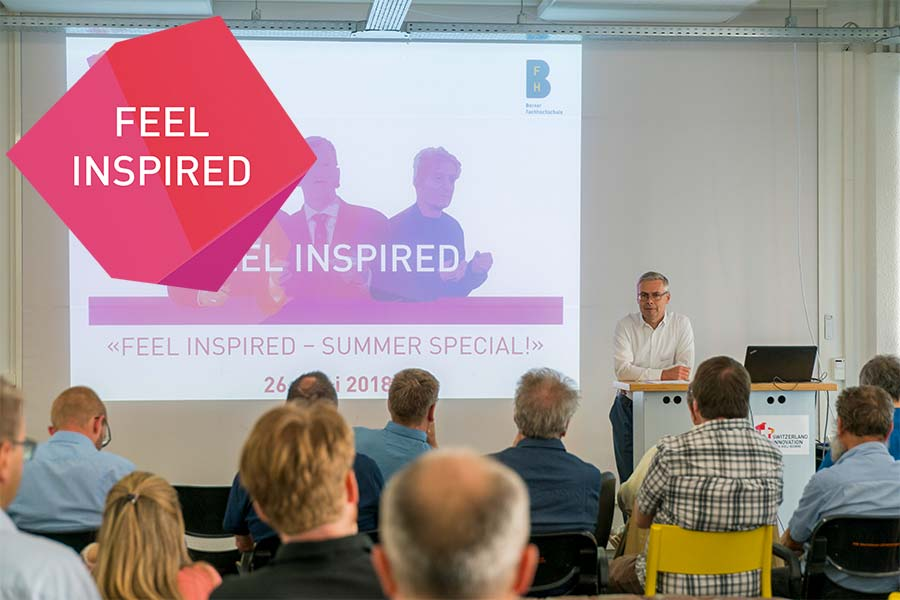 Raniero Pettini präsentiert am Feel inspired Event