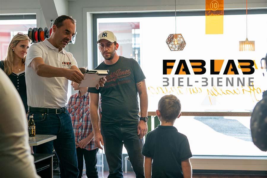 FABLAB Biel Bienne hat viele Events und Worshops