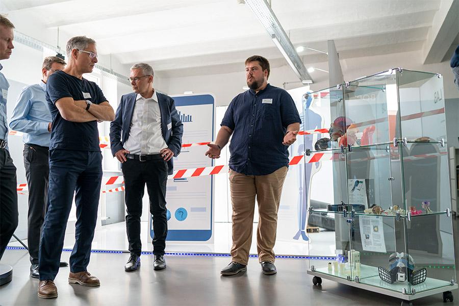 MEdtech Innovation Event, Besuch im innovation lab