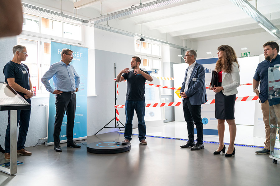MEdtech Innovation Event, Besuch im innovation lab