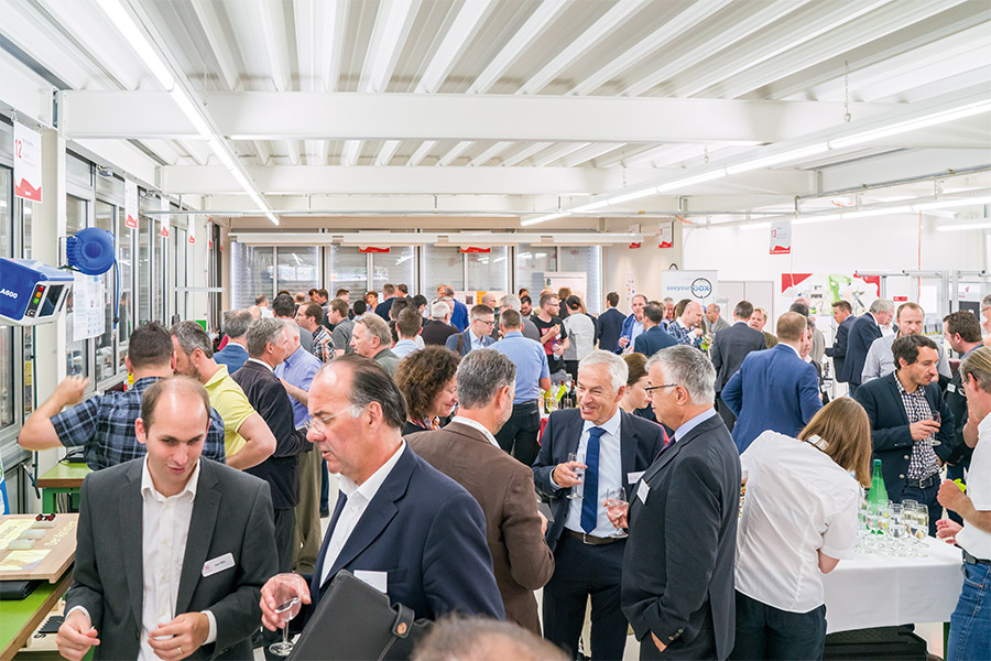 ERöffnungsevent Swiss Smart Factory
